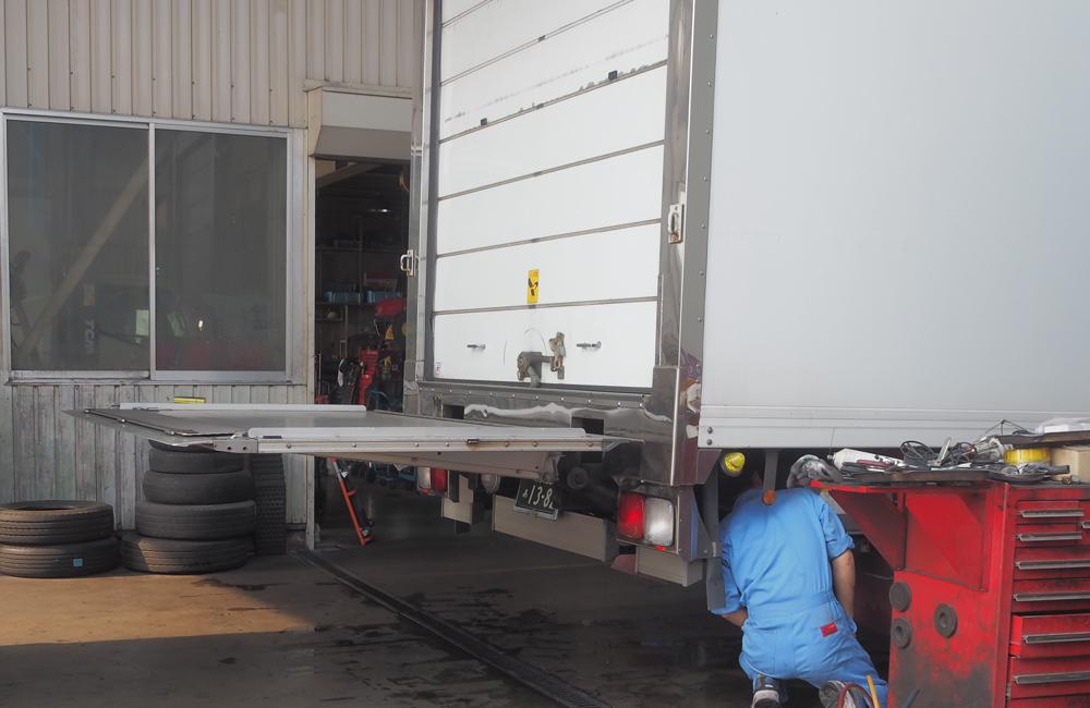 冷凍車(トラック)カスタマイズ